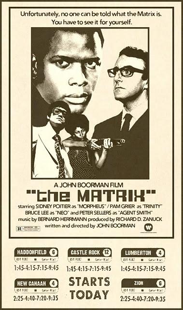 Filme The Matrix - Como seria o filme Matrix se fosse filmado em décadas passadas