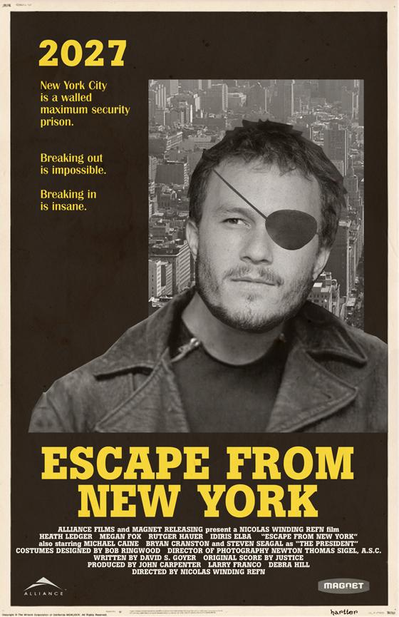 Fuga de Nova York - Literatura Corrosiva