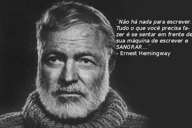 Ernest Hemingway Frases