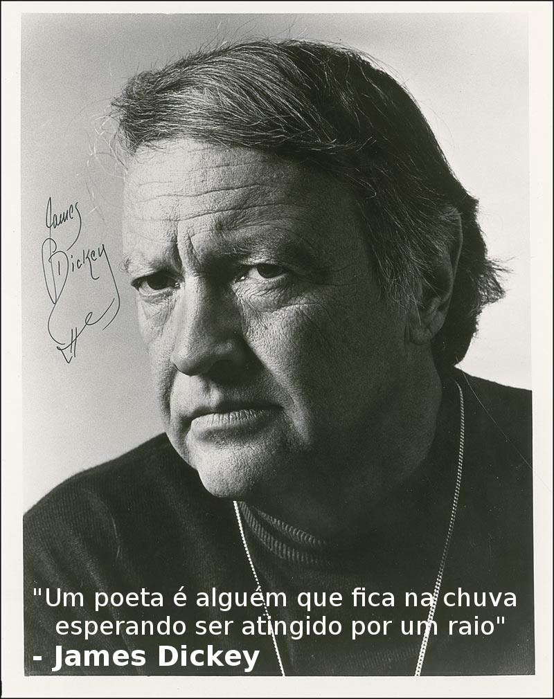 James Dickey Frases