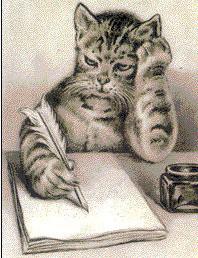 gato-escrevendo