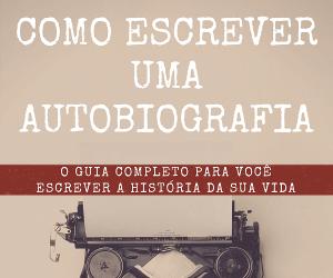 E-book com passo a passo para escrever uma biografia